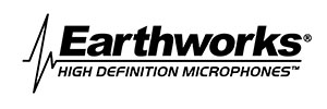Earthworks FW430TPB Cardioid Flexible Stick Microphone, 4ft.