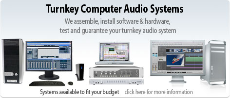 Turnkey Computer Audio Systems